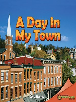 cover image of A Day in My Town